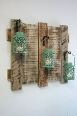 Pallets for decorating